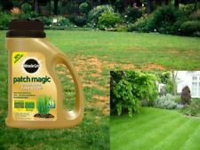 1.015kg Miracle Gro Patch Magic Grass Seed Feed & Coir 13 Patches Garden Lawn