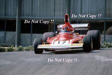 Niki Lauda Ferrari 312 B3 Monaco Grand Prix 1974 Photograph