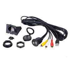 A4A Car Dash Mount Installation USB/Aux 3RCA Extension Cable F Land Rover