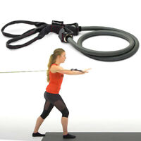 Perfect Fitness Resistance Bands Full Body Home Workout Attach Anywhere Handles