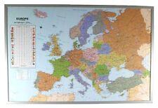 Politische Europakarte als Pinnwand auf Kork #199062