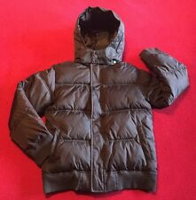 New Gymboree Alpine Patrol Hooded Puffer Jacket Children Size 10-12 Brown Or Red