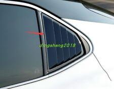2PCS Carbon Fiber Side Vent Window Scoop Louver Trim For Toyota Camry 2018