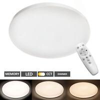 Deckenlampe Schlafzimmer LED mit Fernbedienung 48W Deckenleuchte Dimmbar CCT