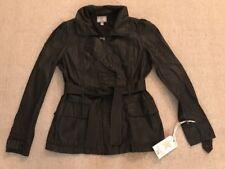 Women's Converse Zip Front Jacket Top With Belt CUTE TOP Medium M NEW #B4