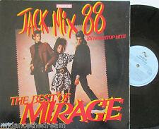 THE BEST OF MIRAGE ~ Jack Mix 88 Non Stop Hits ~ VINYL LP