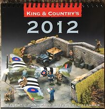 King & Country 2012 Desk Calendar for Toy Soldier Collectors