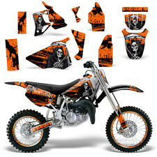 Graphic Kit Honda CR 80 MX Dirt Pit Bike Decals Sticker Wrap CR80 96-02 REAP ORG