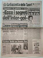 GAZZETTA DELLO SPORT 11-10-1988 ASCOLI NAZZARENO FILIPPINI ZAVAROV INTER