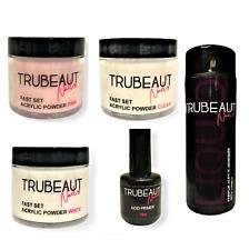 TRUBEAUT Nails Professional Full Acrylic Nail KIT