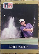 1990 Pro Set PGA Tour Loren Roberts #33 Golf Card