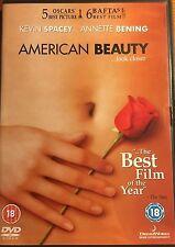 American Beauty 1999 DVD Kevin Spacey Mena Suvari Thora Birch