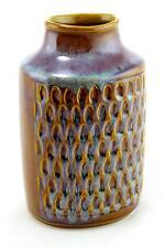 A Soholm vase 1950's 60's Danish pottery Flambe glaze