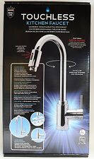 Royal Line Touchless Kitchen Chrome Spout Faucet Tap Hands Free Automatic Sensor
