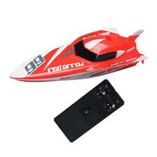 Kids Rc Boat Super Mini Speed High Performance Remote Control Boat Toy Red