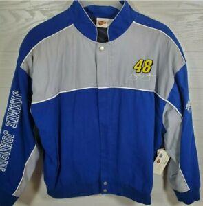 Winners Circle Mens Jimmy Johnson #48 Jacket Size XL New With Tags Kmart Nascar