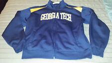 Campus Drive Georgia Tech Men's Medium M Athletic Track Jacket (22.5 P-P) EUC!