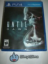 Until Dawn (Horror Adventure; Sony PlayStation 4 PS4, 2015) BRAND NEW & SEALED!