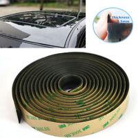 5M Car Front Rear Windshield Gap Waterproof Rubber Seal Strip Edge Weatherstrip