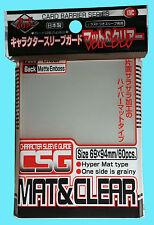 60 KMC OVER SIZED CHARACTER GUARD MATTE & CLEAR Sleeve Standard Size Hyper Mat