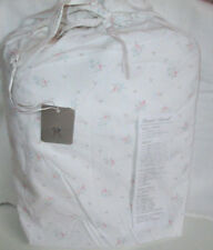 RACHEL ASHWELL California King FITTED Sheet SHABBY CHIC PINK BLUE FLORAL