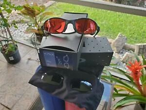 Oakley X METAL JULIET CYCLOPS lenses complete set w/ Black Iridium Excellent