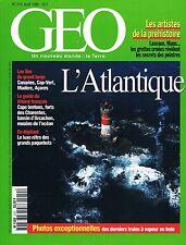 geo - N°210 - aout 1996 - Atlantique Canyons de la reunion Gnawa du maroc Trains