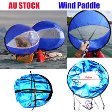 Portable 42 Downwind Wind Paddle Popup Kayak Canoe Sail Wind Kayak Accessories