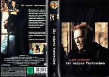 (VHS) Ein wahres Verbrechen - Clint Eastwood, Isaiah Washington, James Woods