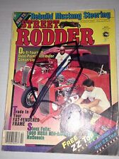 Street Rodder Magazine DIY Fat Fendered Frame October 1986 033017NONRH