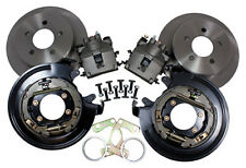 "8"" 9"" Ford - 11"" Rear Disc Brake Kit w/ Parking Brake 5 Lug -M-2300-G Small Ford"