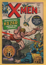 X-Men #10 Marvel Comics 1964 1st Appearance of Kazar FN+