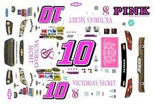 #10 Danica Patrick Victoria's Secret 2013 Chevy SS 1/25th - 1/24th Scale Decals