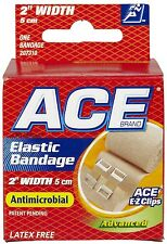 "ACE 2"" Elastic Bandage With Clips"