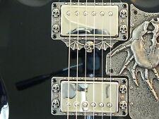 SKULL HUMBUCKER PICKUP RINGS fit gibson Epiphone SG g400 guitar custom special