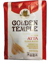 Durum Atta Flour Blend 20 Lb Golden Temple Durum Wheat Flour Bran & Blend