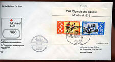 West Germany 1976 Olympic M/S Games Cover #C15381