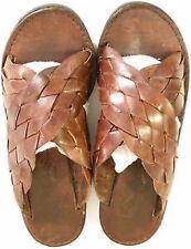 Women's Leather Sandals & Flip Flops in Geometric Pattern