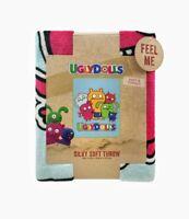 "Ugly Dolls Kids Super Silky Soft Plush Throw Blanket 40""x50"" Cuddly"