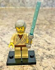 Genuine LEGO STAR WARS Minifigure - Old Obi-Wan Kenobi - Complete - sw0023