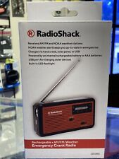 Radioshack Emergency Hand Crank Radio - Rechargeable Am/Fm/Weather
