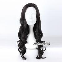 70CM Black Heat Resistant Hair Anime Cosplay Wig