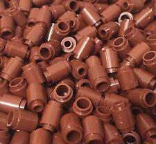 Lego X100 New Reddish Brown 1x1 Round Bricks / Cannonball Bulk Parts Lot
