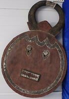Große afrikanische Baule-Maske, erste Häfte 20. Jh, Holzmaske