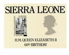 VINTAGE CLASSICS-Sierra Leone 795- Queen Elizabeth Revalued -Souvenir Sheet-MNH
