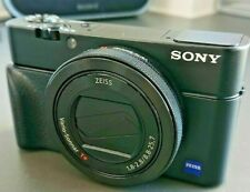 Sony RX100 IV Digital Camera 20MP Zeiss 24-70mm f1.8-2.8