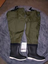 ORVIS BREATHABLE FELT SOLE  BOOT FOOT HIP BOOTS SIZE 10 NEW, CARD AND BAG