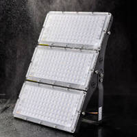 LED garden fence lamp wall Patio Outdoor security Light Waterproof 100/200/300W