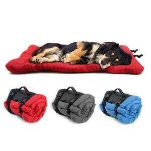 NEW Portable Outdoor Large Dogs Bed Mat Travel Camping Dog Puppy Pads