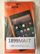 BRAND NEW Amazon Kindle Fire HD 8 Tablet 16 GB w/Alexa 7th Gen 2017 Black
